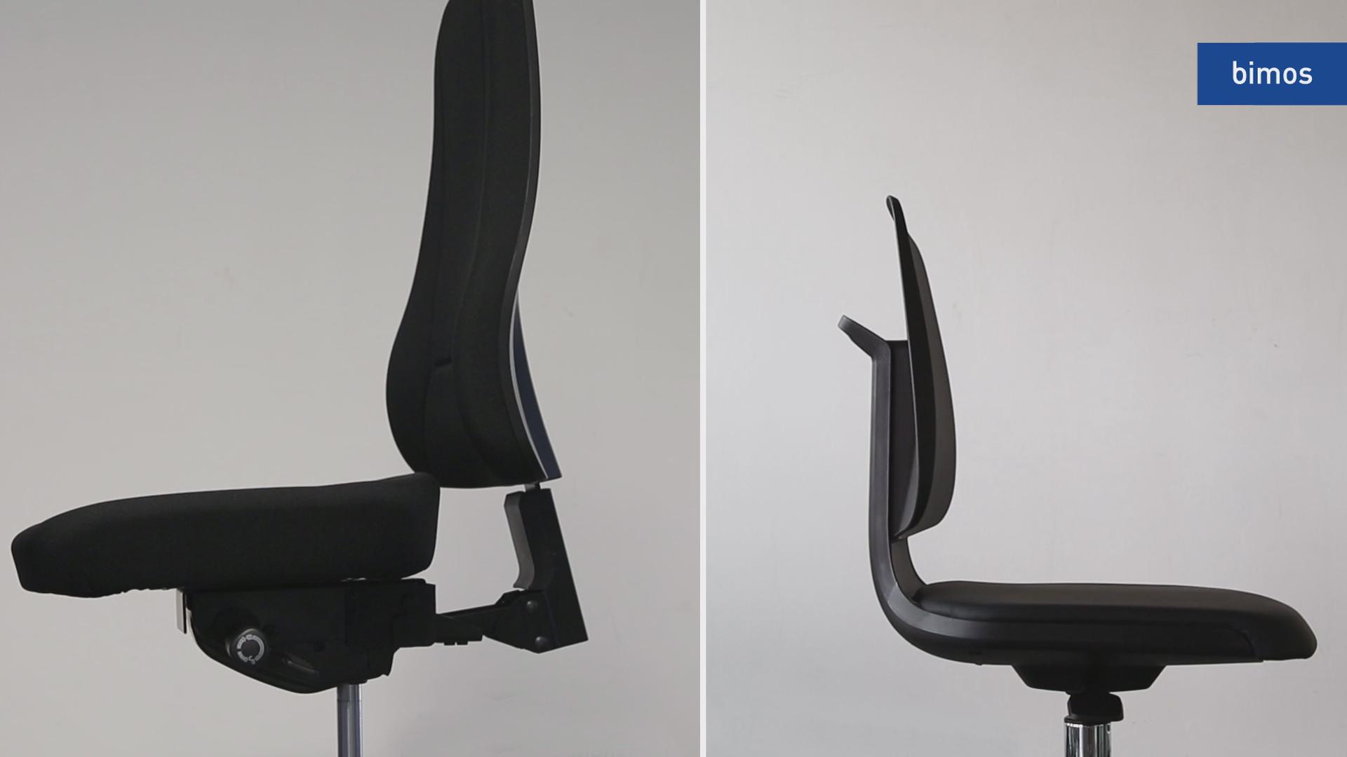 La sedia da laboratorio e la sua ergonomia